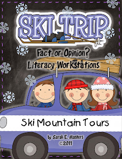 http://www.teacherspayteachers.com/Product/Ski-Trip-Fact-or-Opinion-Literacy-Center-Learning-CenterGame-172309
