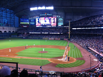 GREAT SEATS AT MINUTE MAID PARK TO WATCH THE BRAVES POUND THE ASTROS 061011