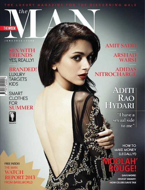 Aditi Rao Hydari On The Cover Of The Man -June Magazine