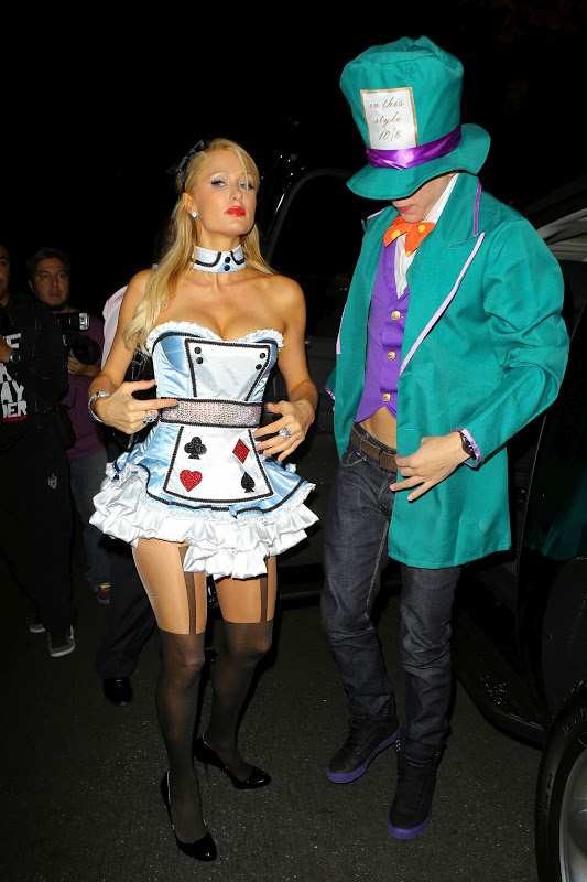Paris Hilton at Halloween Party in Beverly Hills/></a></div> <br /> <div class=