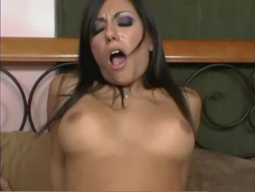 Pierced nipple blow job