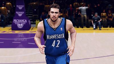 NBA 2K13 Kevin Love CF Mods