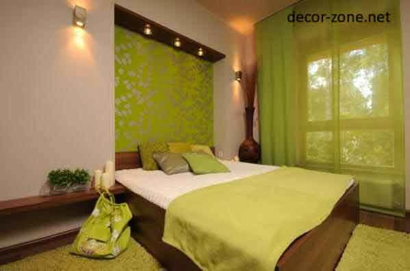 green white color combination, bedroom paint colors