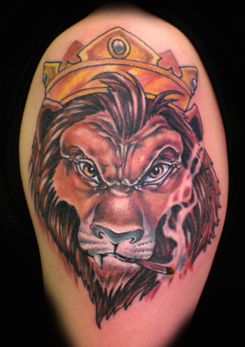 wild tattoos lion king samba tattoos. Black Bedroom Furniture Sets. Home Design Ideas