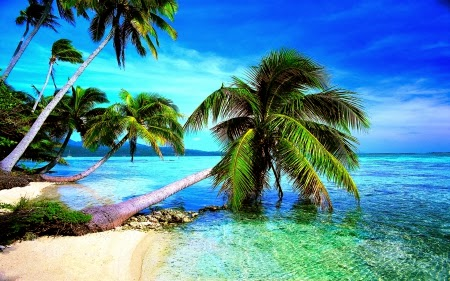 Beautiful Tropical Beach Scean Beautiful Nature Images And Wallpaper