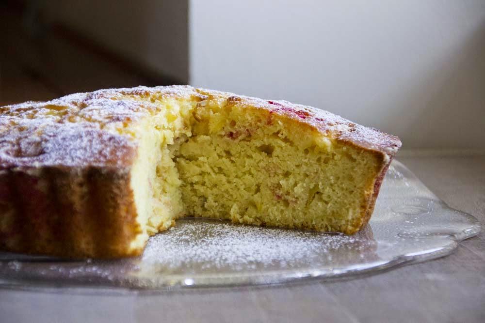 torta di pere e mele