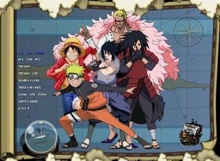 Download One Piece vs Naruto Mugen v2 2014 Full Version Free – 1,5 GB