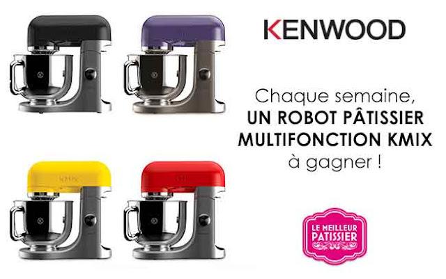 Concours Kenwood 8 robots pâtissier kMix !