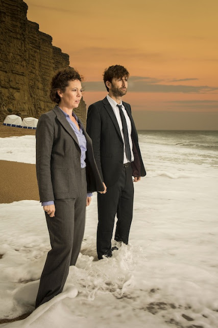 Broadchurch with Olivia Colman and David Tennant
