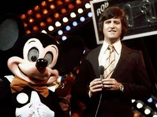 Ed Stewart and Mickey Mouse