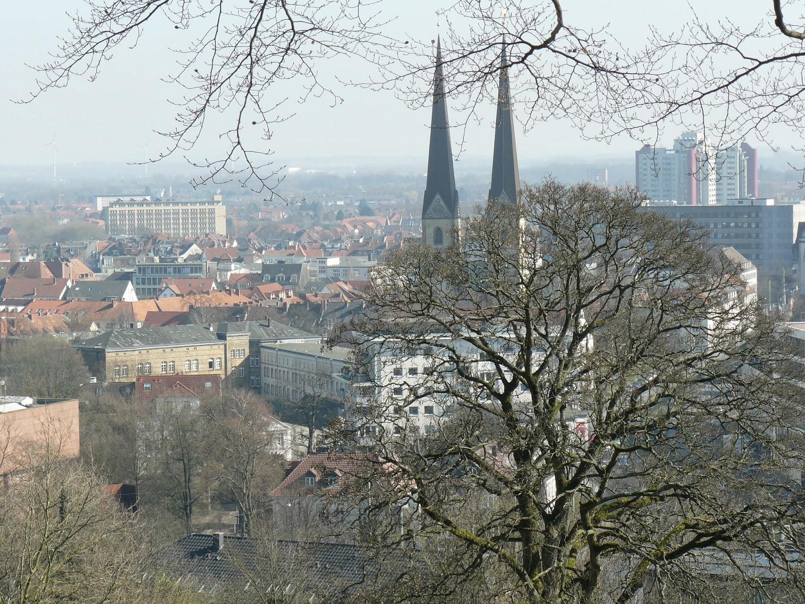Bielefeld vom Johannisberg aus