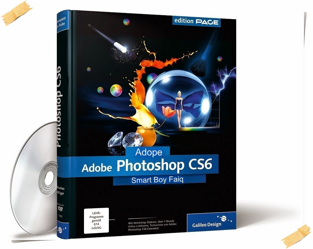 Adobe Photoshop CS6 Extended v13.0 Full Version + CracK