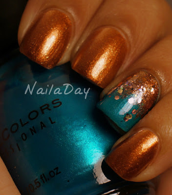 NailaDay: Pinterest Skirt Inspired Mani