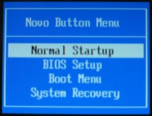 pilih BIOS setup