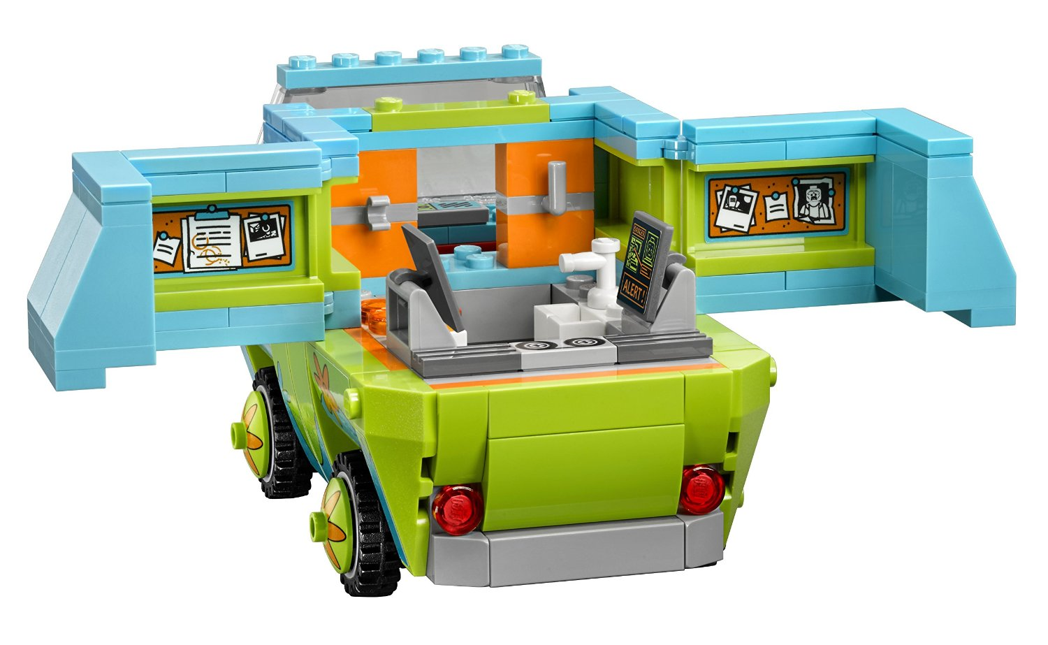 lego scooby doo 75902 the mystery machine building kit