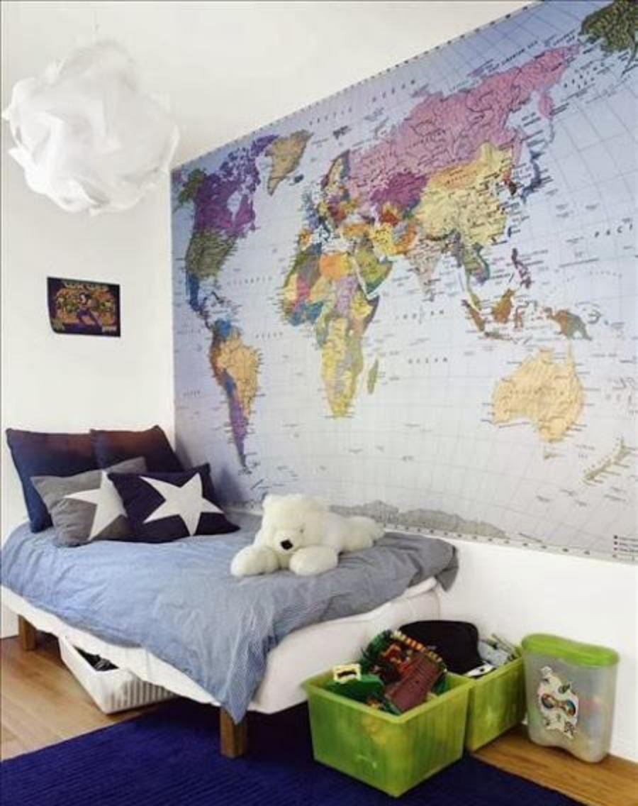 Murales para dormitorios juveniles amazing mural tigre - Murales para dormitorios ...