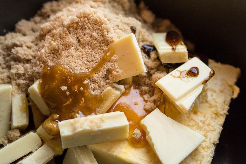 Ingredients for Salted Caramel Mud Cake   Svelte Salivations