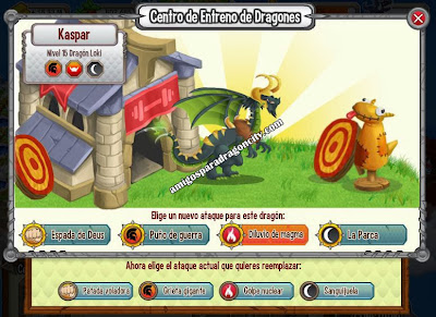 imagen de los ataques del dragon loki