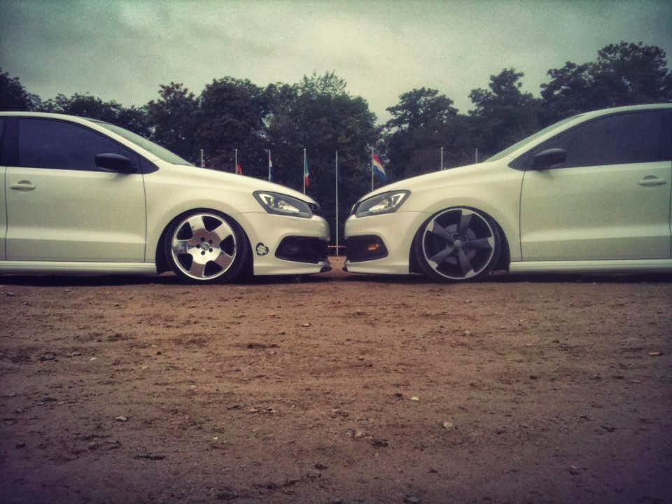 Modified Cars: White Volkswagen Polo Modified
