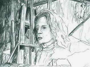 Autorretrato-2001-Lápiz-papel-Daniel-Segura-Bonnett