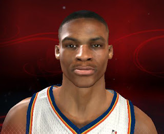 NBA 2K13 Russell Westbrook Cyber Face Patch NBA2K