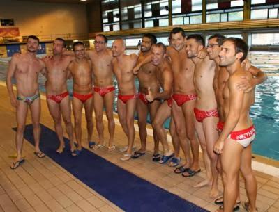 Gay swim team videos