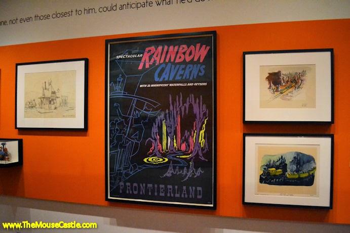 Rainbow Caverns attraction poster
