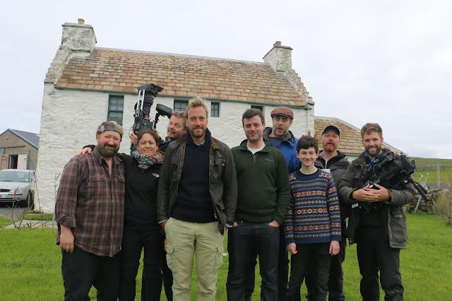 Fair Isle: Tommy H Hyndman & Ben Fogle's New Lives in the Wild. UK.