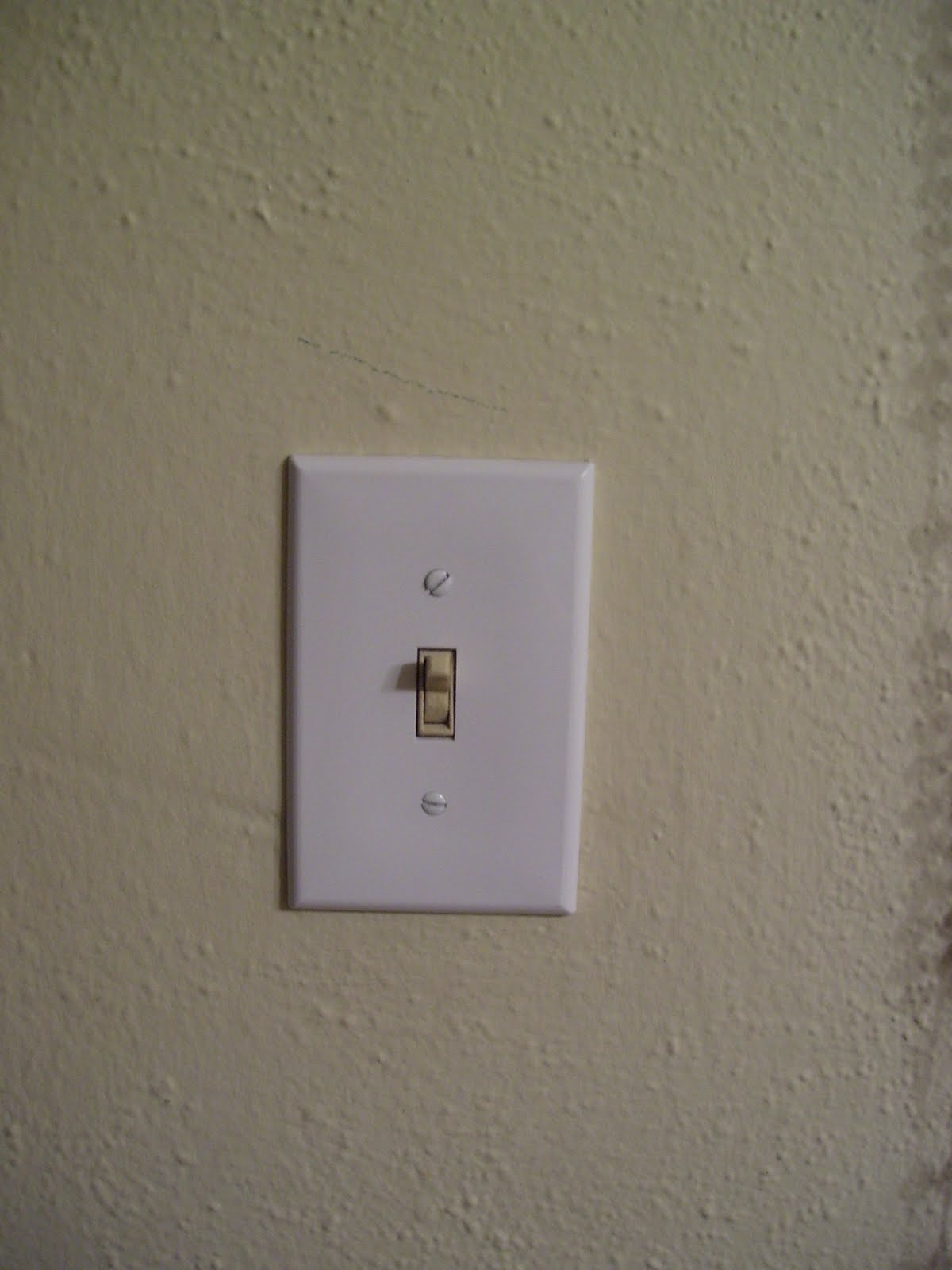 Whimsically Homemade DIY Light Switch Plates