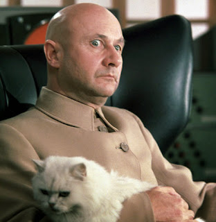 Blofeld and cat