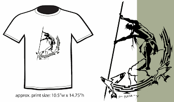 &#39;Pacific NW Indigenous Fisherman T-Shirt&#39; For Sale!