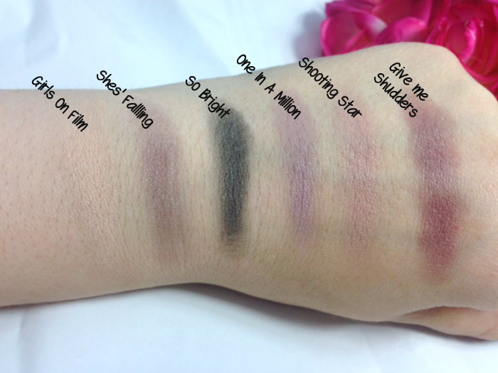 Makeup Revolution 'Girls on Film' Eyeshadow Palette Review