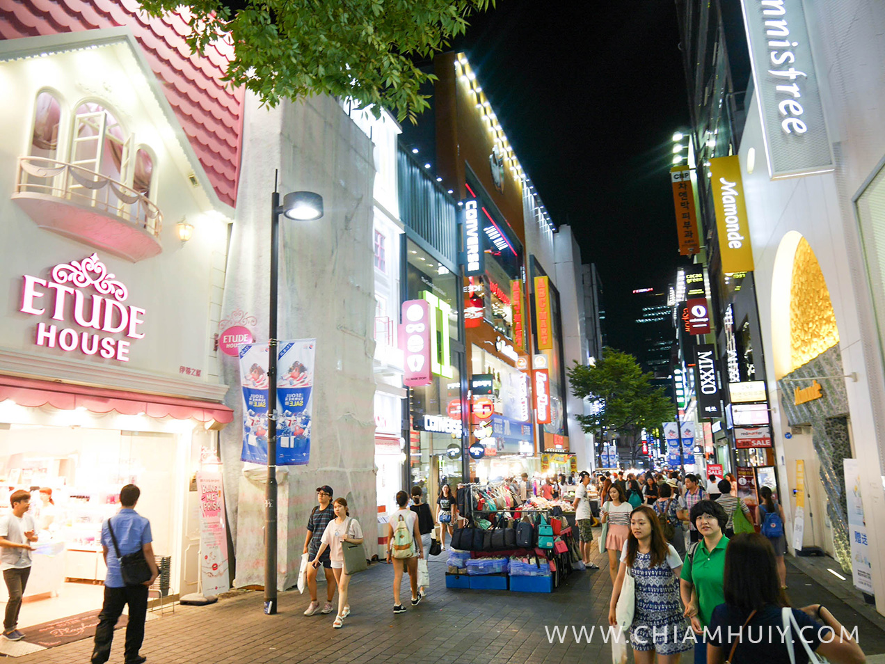 SEOUL SEARCHING DAY#3: MYEONGDONG SHOPPING & STREET FOOD, NAMSAN ...