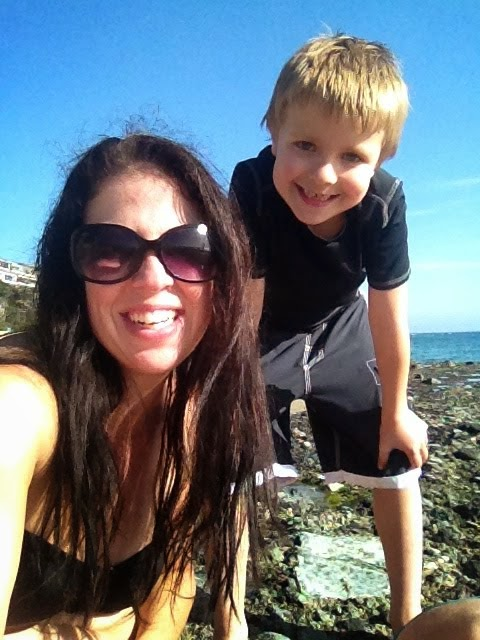 Beach Time with my boy