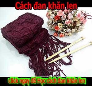 Học Cách đan khăn len