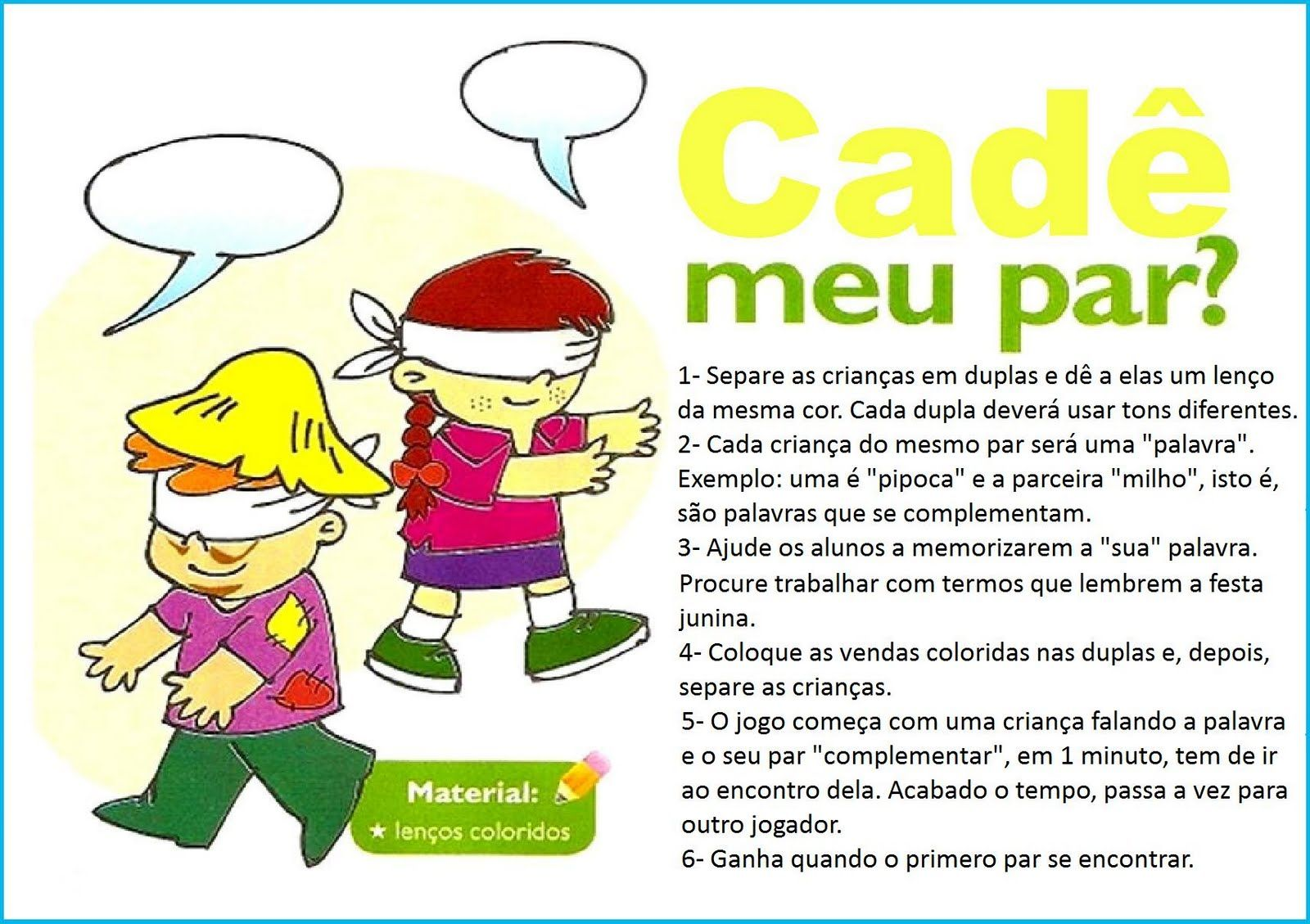 Favoritos A B C do EDUCAR: Brincadeiras Festa Junina VR77