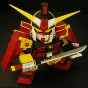 SD Samurai Gundam Papercraf Model