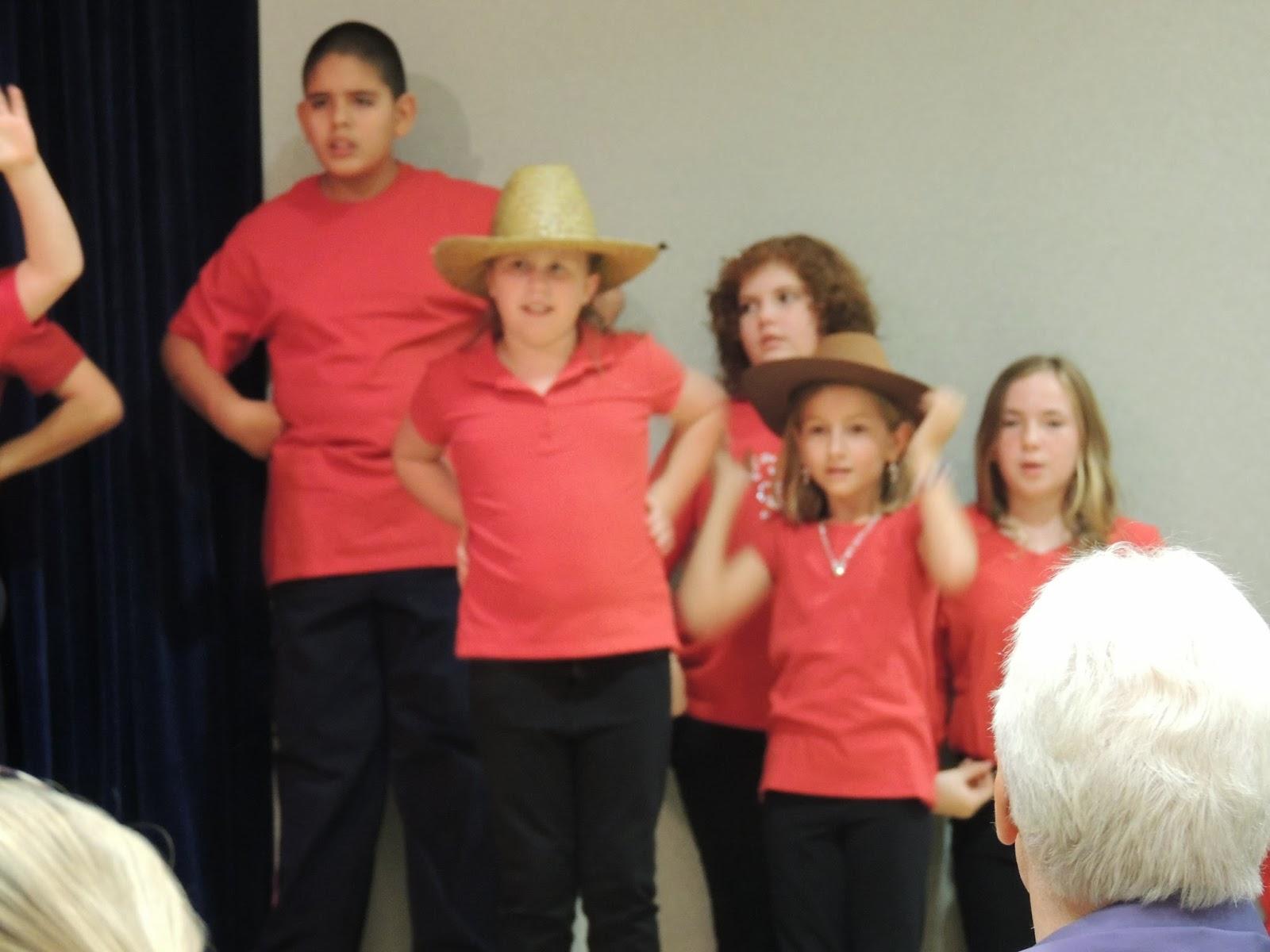 The Mosenthins: Kaelyn\'s Christmas Program