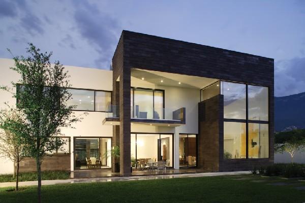 Casas minimalistas y modernas casa minimalista en mexico for Casas modernas en mexico