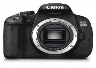 Harga dan Spesifikasi Canon EOS 650D