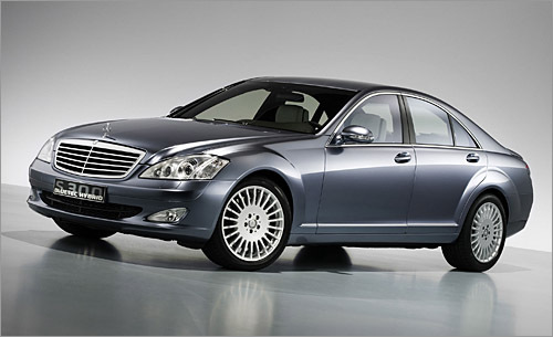 The Mercedes S-Class Hybrid