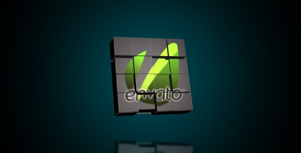 VideoHive Logo Cubes Transformation
