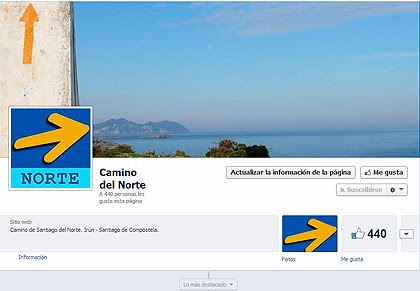 Grupo en Facebook del Camino del Norte