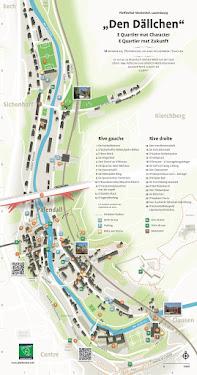 Plan/Map Pfaffenthal-Siechenhof