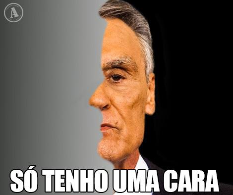 Cavaco Silva - Só tenho uma cara