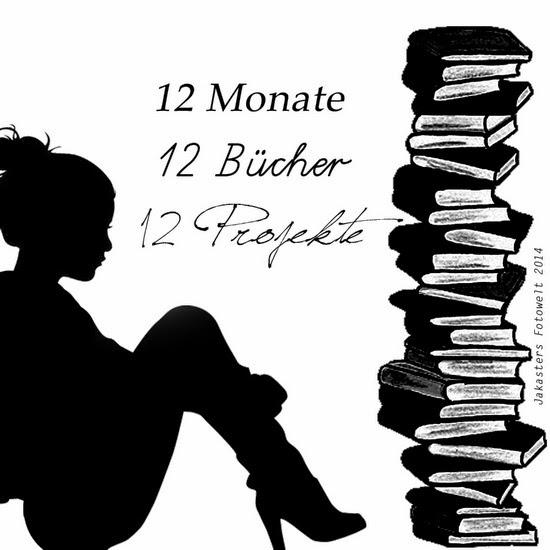 12 Monate - 12 Bücher - 12 Projekte