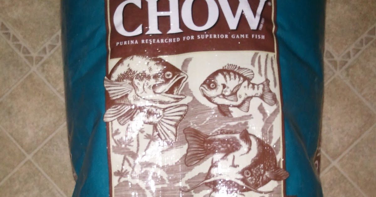 Chico aquaponic fish food for Purina game fish chow