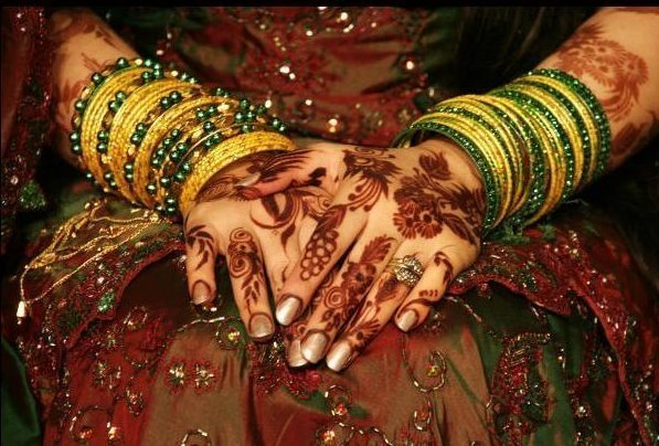 Indian Dulhan Mehndi Designs