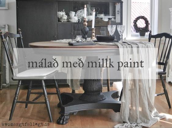 Málað með Milk Paint