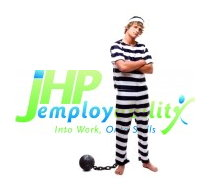 JHP Emplyability Minimum Work Activity Programme ball and chain protest